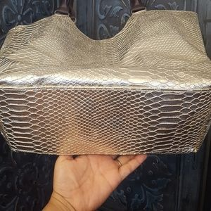 Neiman Marcus Bags - Neiman Marcus Gold Tote Bag